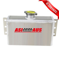 Universal Aluminum Coolant Expansion Fill Tank Overflow Reservoir CAN+AU MEL.