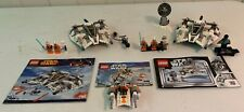 LEGO Star Wars Snowspeeder Lot 100% Complete No Boxes with Instructions