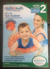Brand New Swim School Deluxe Tot Trainer Level 2  2-4 Years In Box Free Shipping