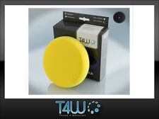 "T4W Polishing pad sponge ""velcro"" 150×25 mm /  yellow (semi-soft)"
