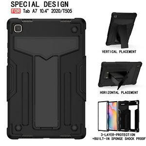 For Samsung Galaxy Tab A7 10.4 T500/505 2020 Tablet Case Stand Rugged Cover New