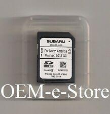 2013 2014 Subaru Outback / Legacy Harman Navigation OEM SD Card Map U.S Canada