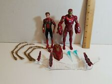 Marvel Legends 2 Pack Iron Spider & Iron Man Mark 50 Loose Figures