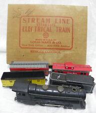 Vintage Marx 994 Steam Locomotive NICKEL PLATE ROAD Train Set in Box