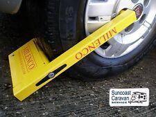 Milenco Compact Caravan RV Wheel Clamp - suits 12″ & 16″ Wheels
