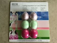 EOS Lasting Hydration Lip Care Collection Balm Hibiscus Cucumber Wildberry