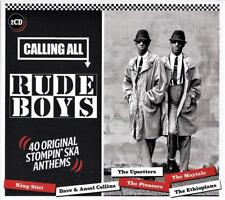 CALLING ALL THE RUDE BOYS - VARIOUS ARTISTS (NEW SEALED 2CD)