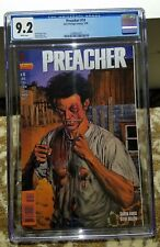 Preacher 10 CGC 9.2 White Pages!