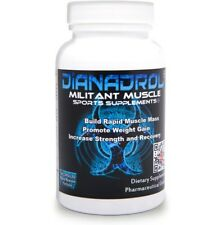 Dianadrol Muscle Building Weight Gain Supplement 100 Capsules