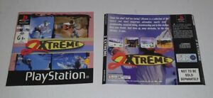 Sony Playstation 1 2 Extreme Back Cover & Manual PAL Version PS1