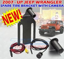 Rear View Backup Camera Spare Tire Mount Camera for Jeep Wrangler 2007-2018 Camera for Reversing Parking