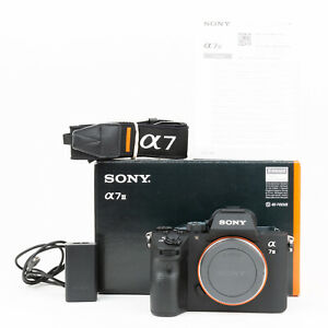 Sony Alpha A7 III 24MP Mirrorless Camera Body - Boxed - 3,318 Shots - Superb