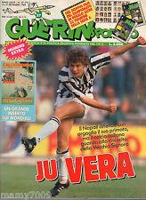 GUERIN SPORTIVO=N°37 1989=CALCIOMONDO BRASILE SHOCK=DOPPIO FILM DEL CAMPIONATO
