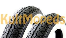 2 Weisswand Reifen 3,50x10 Räder pas f. Vespa PX P 80 50 125 150 Weissband