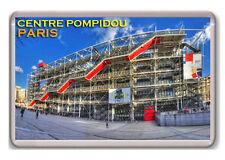 CENTRE POMPIDOU PARIS FRANCE FRIDGE MAGNET SOUVENIR NEW