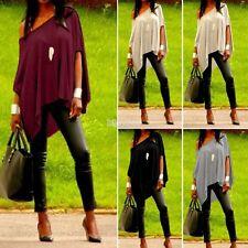 2016 Femme épaule off manche courte été Shirt Blouse Tops Chemise Hauts S M L XL