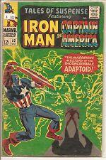 Tales of Suspense # 82 Oct 1966 Marvel Iron Man Captain America Jack Kirby
