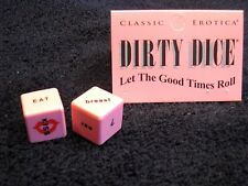 Dirty Dice New Erotic Sex Foreplay Positions Adult Party Game 2 Dice Fetish Fun