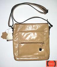 Giani Bernini Glazed Leather Crossbody Bag Spice