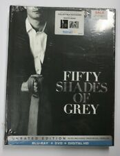 Fifty Shades of Grey Unrated Edition Blu Ray+DVD+Digital HD BNEW SEALED