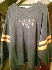 NFL Equipment Chicago Bears Fleece Crew Sweatshirt 4XL
