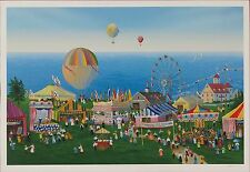 Sally Caldwell Fisher - Ocean Club Sea Festival, hand-signed serigraph