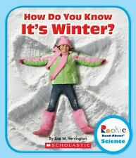 Rookie Read-About Science: How Do You Know It's Winter? - Acceptable - Herringto