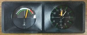 Renault 14 Gauges Set (Temperature Gauge + Horloge) Jaeger Clock + temperature
