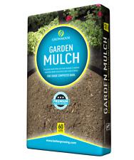 60L Growmoor Garden Mulch ( Moisture Retainer/ Protect Roots)