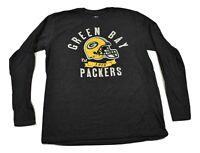 NFL Team Apparel Mens Green Bay Packers Football Shirt New S, M, L, XL, 2XL