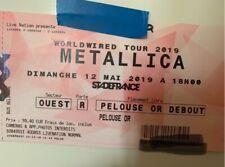 1 billet Metallica pelouse or 12/05/19