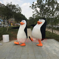 Madagascar Penguin Mascot Costume Cartoon Cosplay Party Fancy Dress Advertising