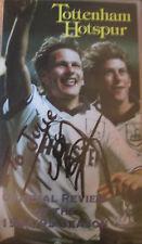 Hand Signed Tottenham Hotspur VHS Sleeve by Teddy Sheringham
