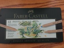 New - Faber Castell 12 Pitt Pastel Pencils