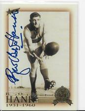 2003  HALL OF FAME  CARD  BOB HANK SIGNED / MINT CONDITION