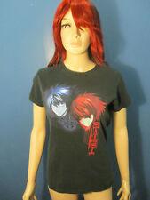 S / M black semi fitted DEATHNOTE manga t-shirt - 2003 graphic novel