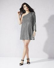 SEXY SIMPLY BE ONE SHOULDER METALLIC DRESS NWT PLUS SIZE 20