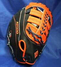 """Wilson A20RB16MC24GM(12"""") First Base Mitt (Right-Handed Thrower)"""