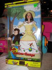 """Barbie """"Curious George"""" 2Nd In Keepsake Treasure #28798"""