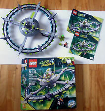 Complete LEGO SET 7065 Space Alien Mothership Alien Conquest series * 2011 toy