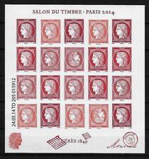 F4871 Bloc CERES Salon du Timbre 2014 -  Neufs ** sans Charnière - LUXE