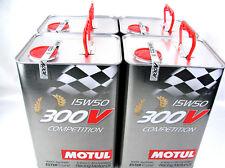 2x5l 10 litros Motul 300v competencia 15w50 aceite Racing Sintético