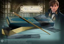 Fantastic Beasts Wand of Newt Scamander w Collectors Box Harry Potter Authentic
