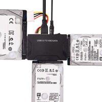 USB 3.0 zu IDE SATA 2.5'' 3.5'' HDD SDD Adapter Cable Laufwerk Kabel  DE STOCK