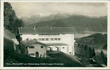 Ansichtskarte Haus Wachenfeld am Obersalzberg gegen Reiteralpe (Nr.9455)