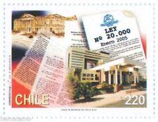 Chile 2005 #2150 Promulgacion Ley Nº20.000 MNH