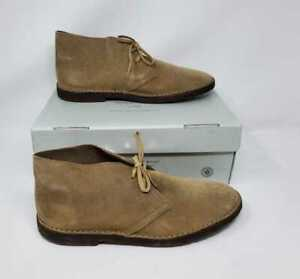 NEW MEN'S 13 J CREW THE 1990 MacALISTER BOOT IN SUEDE / STONE