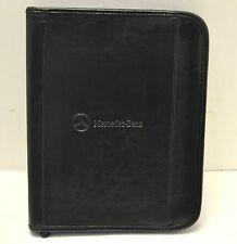 Genuine Mercedes Benz Leather Zipper Case Organizer for Apple iPad 3 4 Air Black