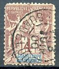 TIMBRE COLONIES FRANCAISES / GUADELOUPE TYPE SAGE OBLITERE N° 29