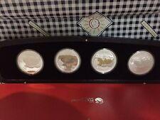 2008 australia mouse typeset silver coin coa box